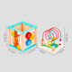 Toys Educational Hot Wholesale Novelty 4-Side Multifunctional Wooden Beaded Treasure Box Toys New Released Cartoon Animal Kids Educational Toys