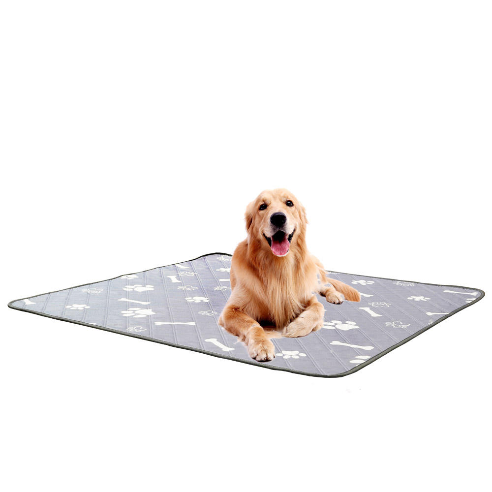 Repeatable Machine Washable Non slip Four layer Training pet Dog Diaper absorbent pad