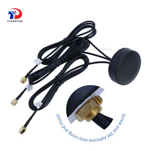 3x3 Combo internet satellite communication screw mounted Wifi Gprs Lte 4G mimo Antenna