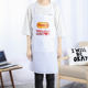 Customized Household White Kitchen Non Woven Apron