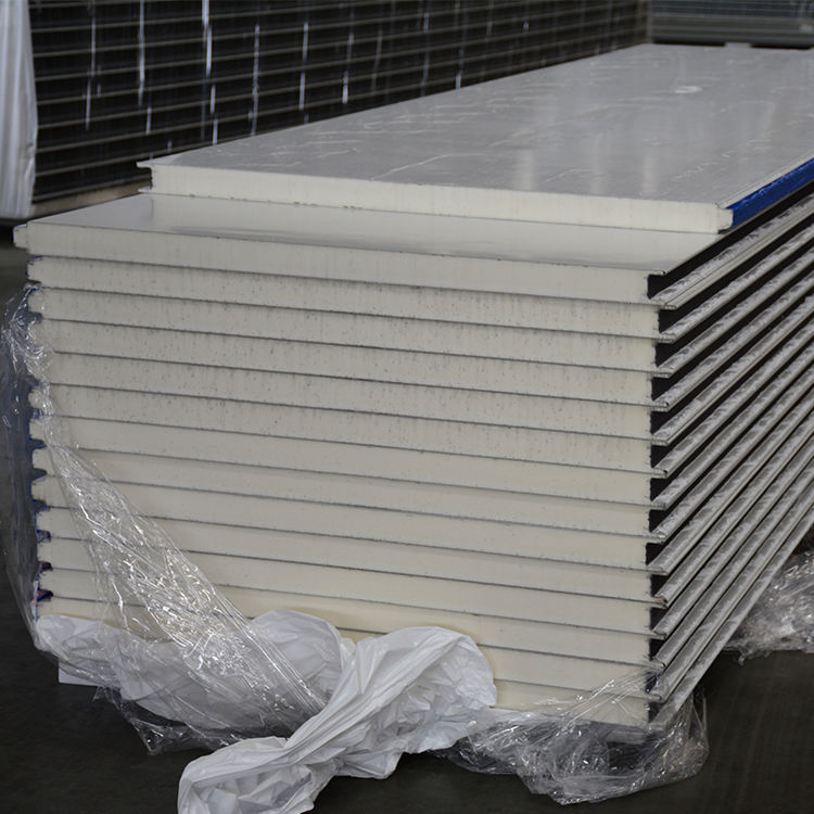 Henan new material polyurethane sandwich panels insulated seconds heat resistant cold wall grc panel