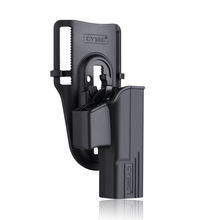 Cytac Thumbsmart Series - Thumb Release Polymer Holster for Glock 19.23.32