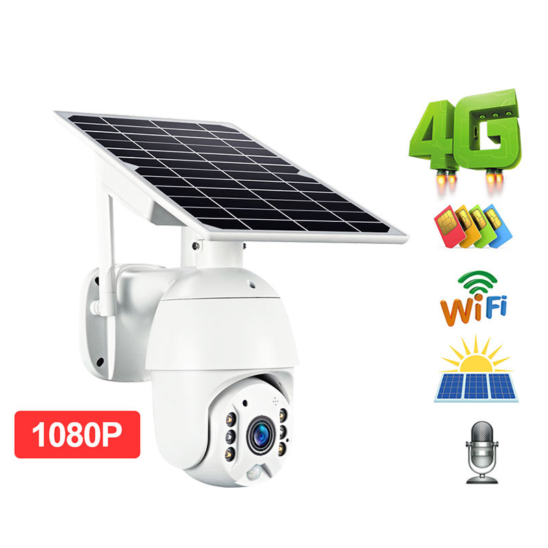 ALLTOP App support 1080p wireless wifi ip security camera system mini solar cctv camera price