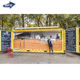 Portable container Prefab Restaurant Outdoor Fast Food Kiosk Mobile Coffee Shop