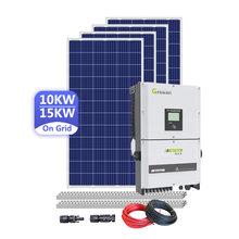 On Grid Three Phase Inverter 10KW 12KW 15KW Solar Power Systems
