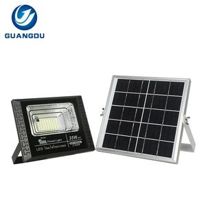 Top ip67 wasserdichte outdoor 35w 55w 75w 125w 200w 300w tragbare solar led flut licht