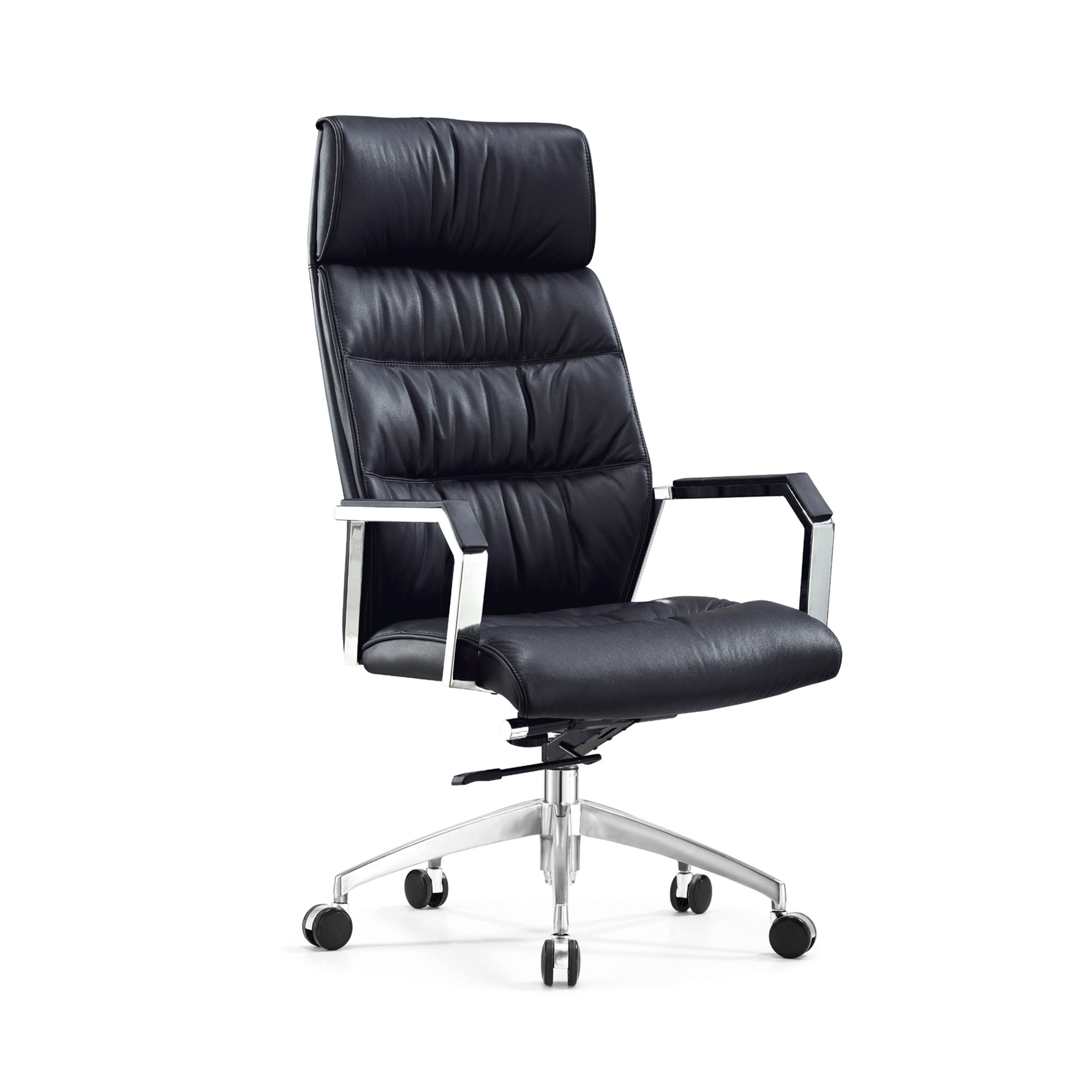 High And Low Back Chair Modern Office Chair Specific Use PU Leather Office Chair