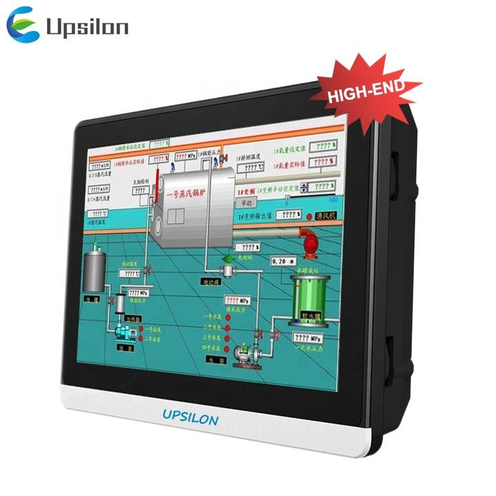 ip65 sunlight readable rs485 rs232 ethernet low cost industrial hmi plc