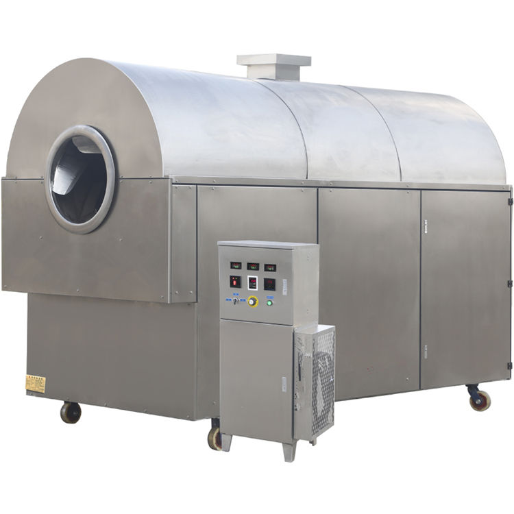Special for snacks food stainless steel pistachio roasting machine