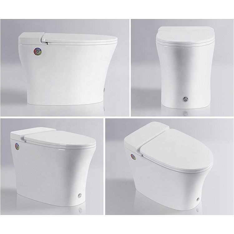 Easy Wash Ceramic Peeping Chinese Portable Toilet Seat For Bathroom One Piece Water Saving In High Quality Flush WC