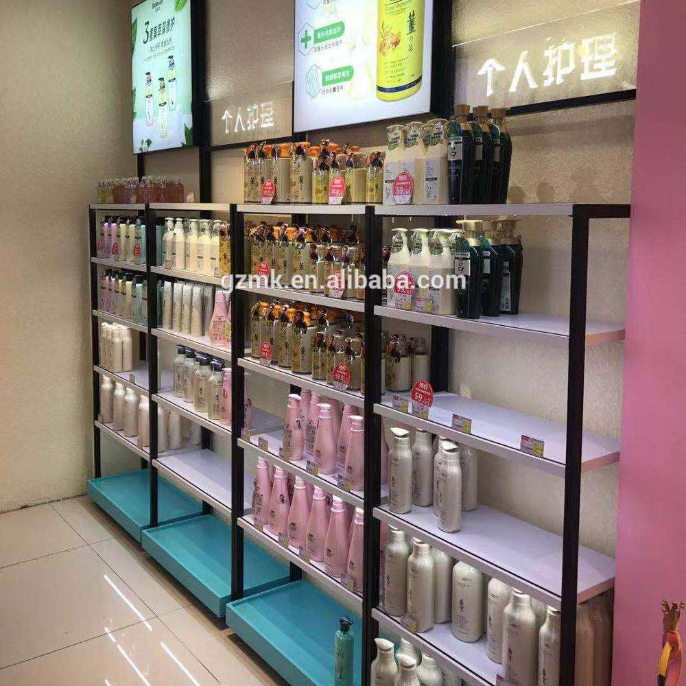 Cosmetic shop cosmetic shelf beauty shop display cabinet decoration