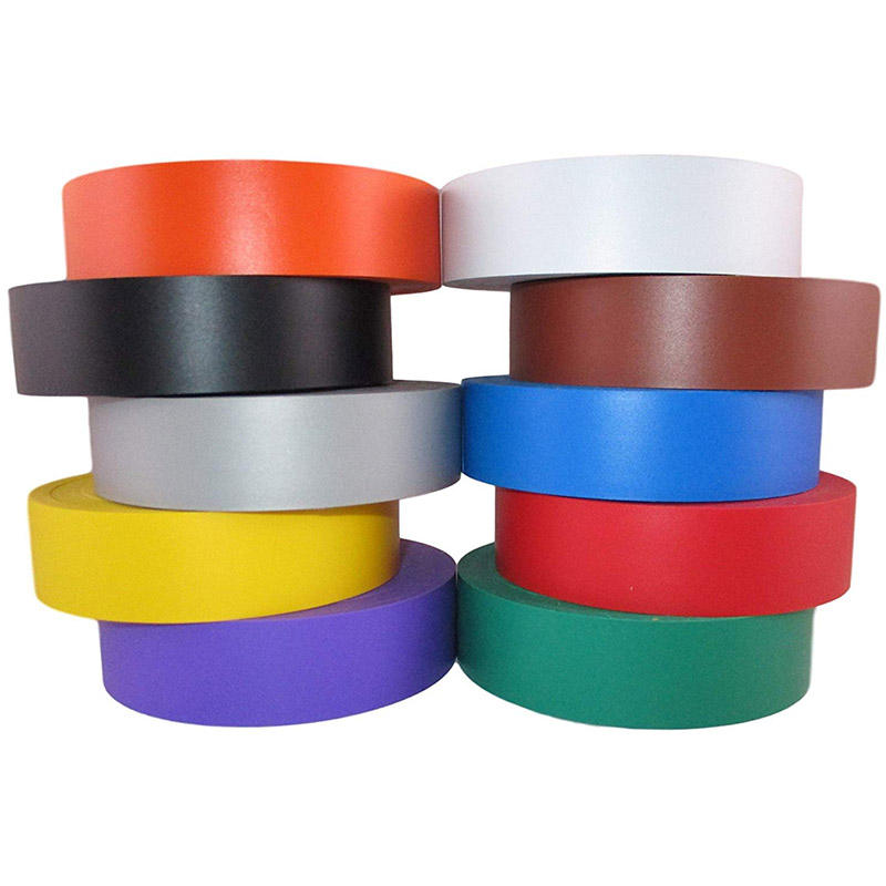 Multi Color High Pressure good Adhesive PVC Electrical Insulating Tape