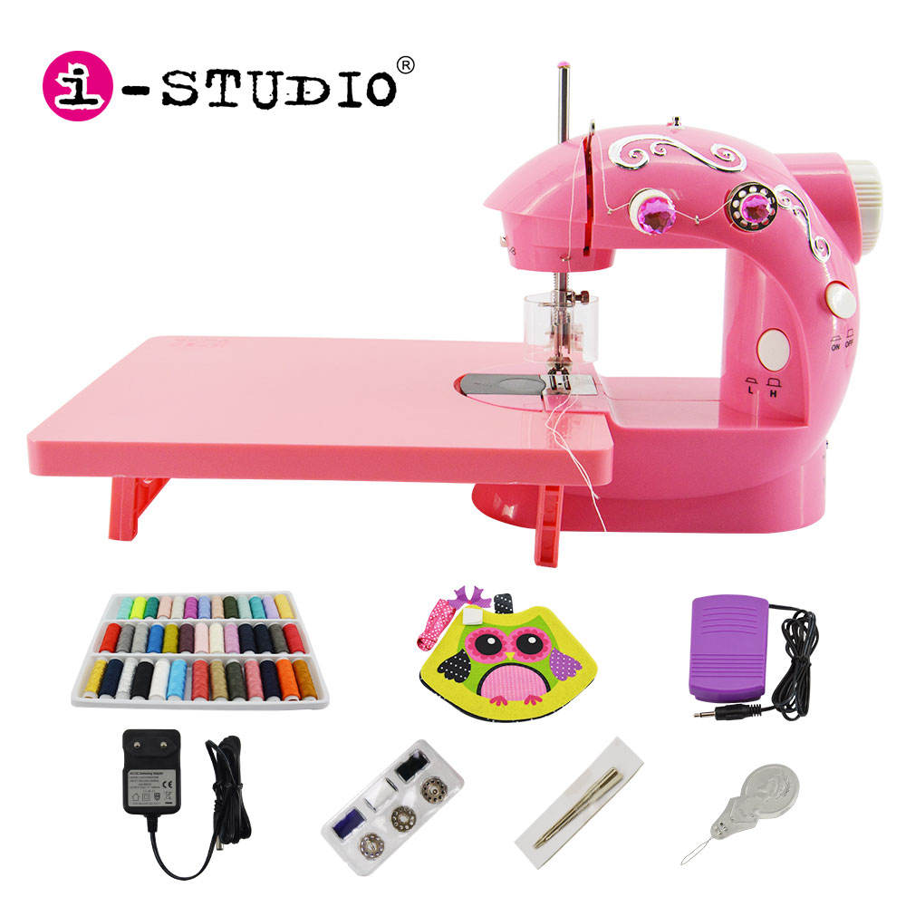 Samples Service, RTS Popular mini sewing machines for cloths handheld toys
