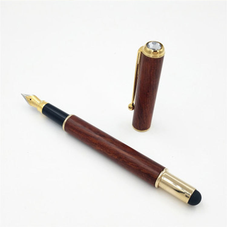 New styles luxury high quality bamboo fountain pen wood fountain pen with customized logo