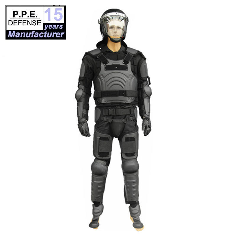 Military security guard Anti riot Body armor suit