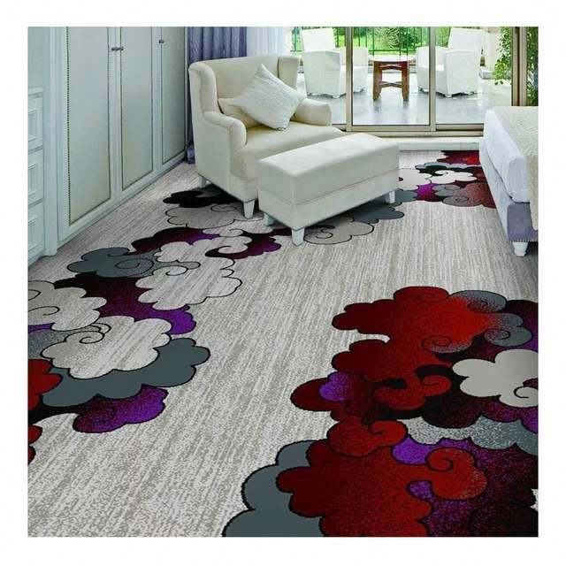 Innovflooring hotel knotted carpet logo carpet for hotel entrance