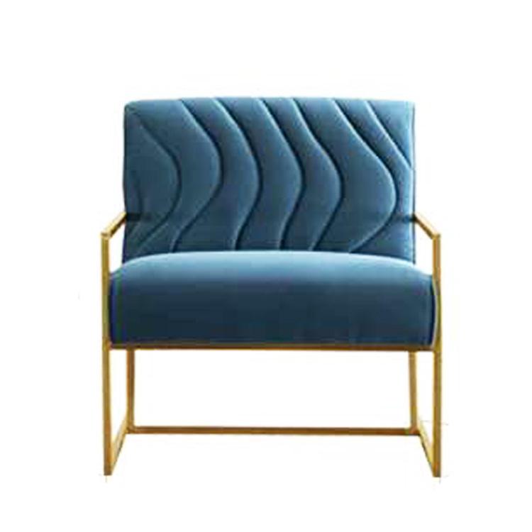 Personalizado 2019 morden hotel barato bar del vestíbulo luxus de lino sofá <span class=keywords><strong>asiento</strong></span> con patas de metal