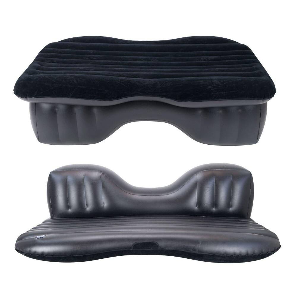 Travel [ Inflatable Bed ] Car Inflatable Bed Multifunctional Car Travel Inflatable Flocking Air Bed High Quality