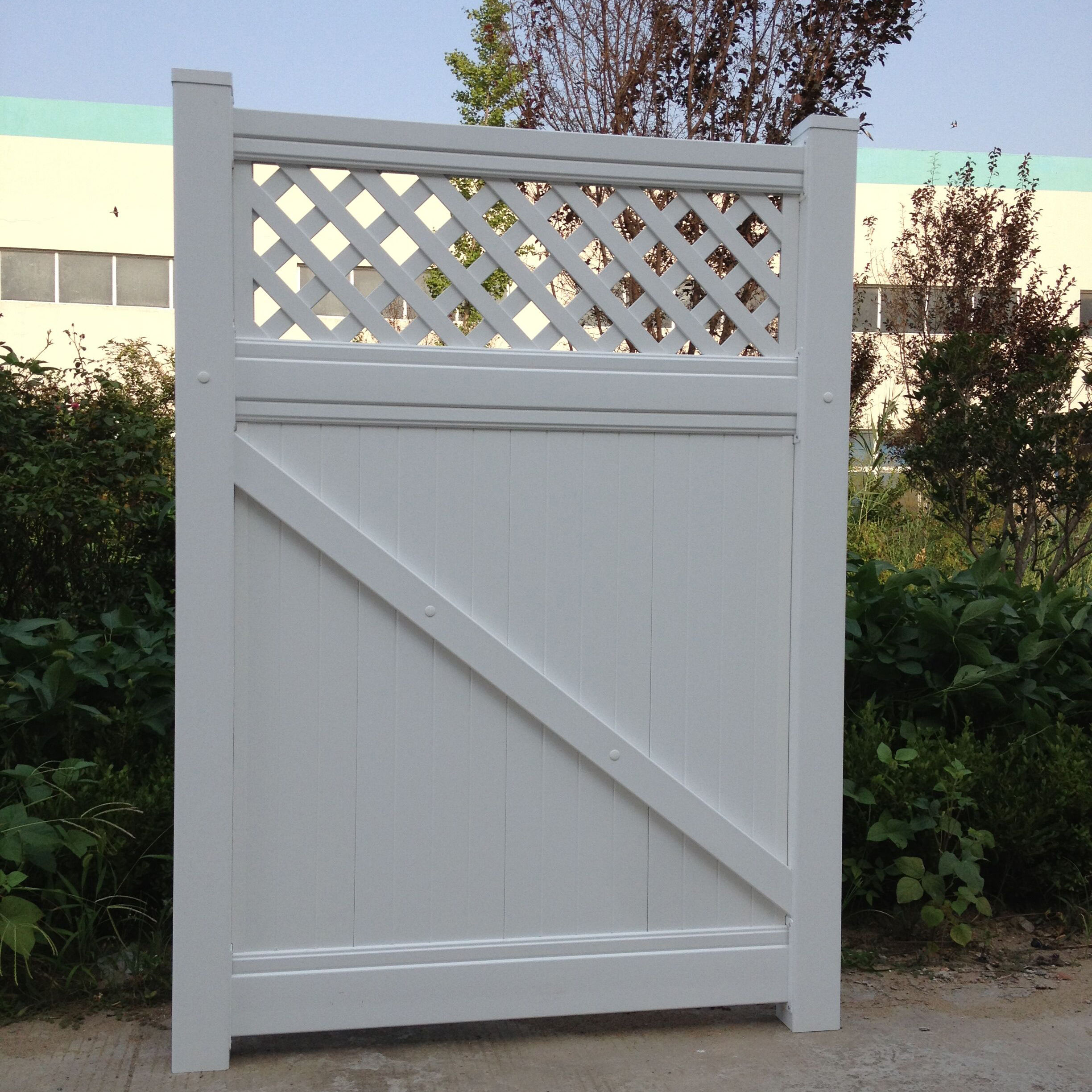 Simple PVC main trellis&gates for house,garden,boundary design