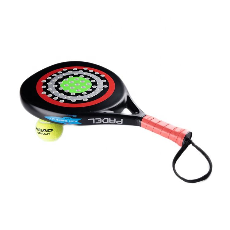 Strand Games Met Eva Geheugen Flex Foam Core Custom Overgrip Padel Paddle Rackets