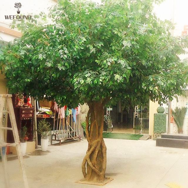 Árbol ficus artificial FT0910, árbol artificial para decoración interior