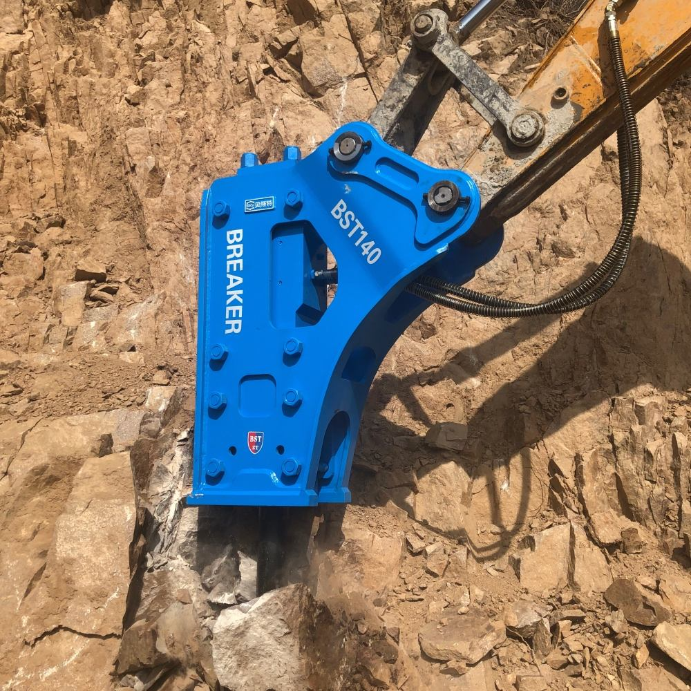 Chinese own brand excavators parts high effciency high quality hydraulic breaking hammers