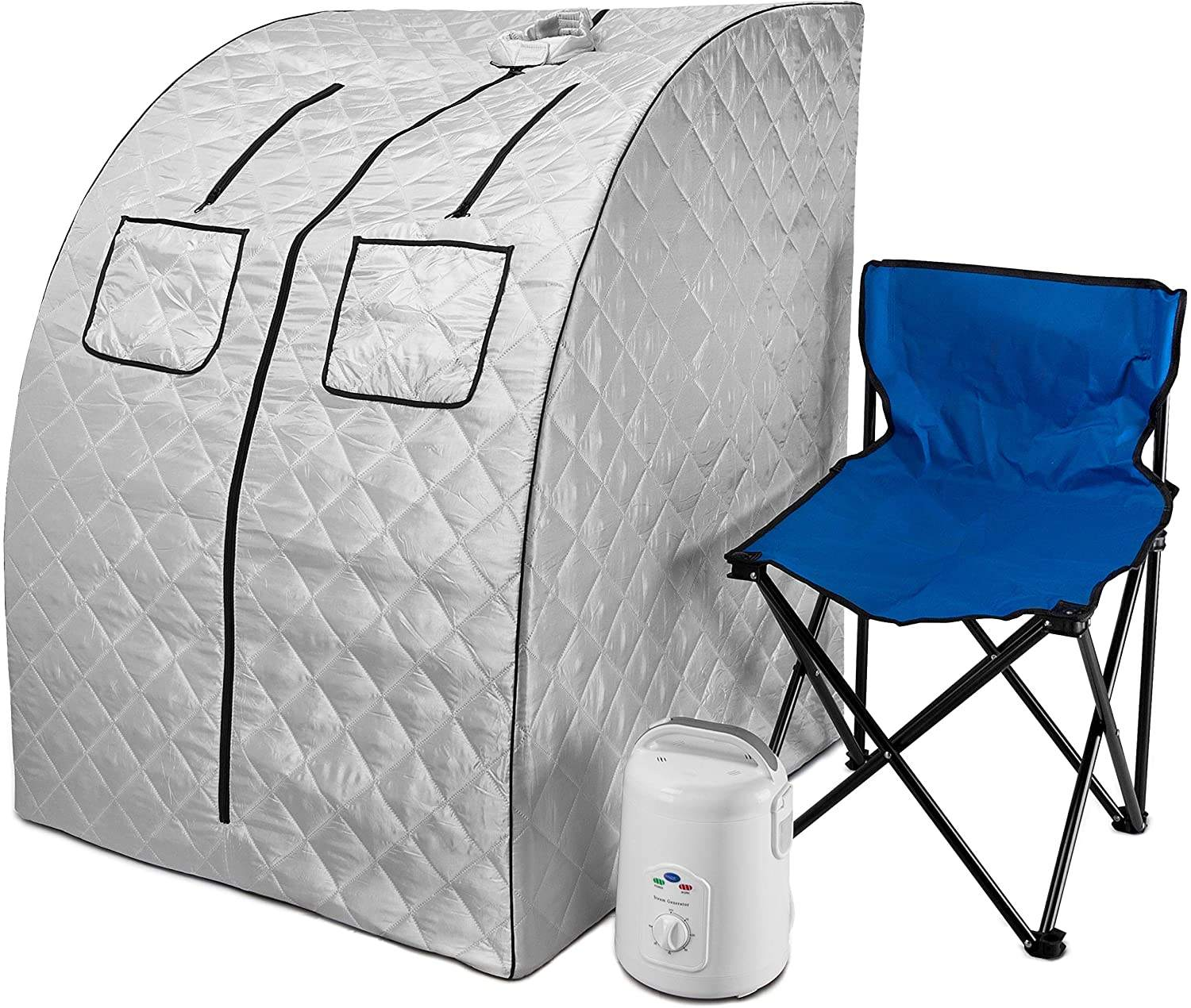 Portable sauna blanket steamer tent 1 person mini home use dry sauna spa far infrared sauna room for sale