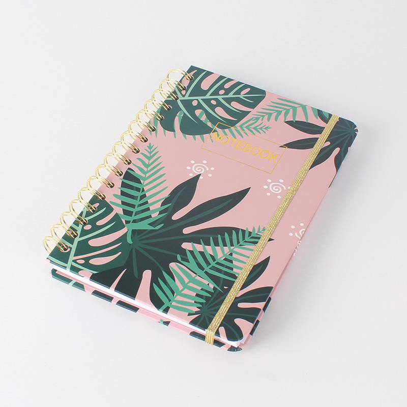 Eco Friendly 2021 Premium Diary Note Book A5 Double Wire O Spiral Journal Notebook