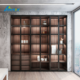 Aluminium Sliding Door Wardrobe Profiles For Bedroom Furniture Cloest Design
