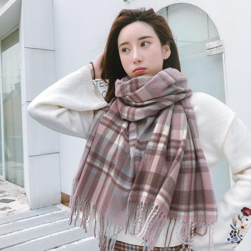 Winter warm bib solid color infinity bib fashion scarf female head scarfs for women stylish