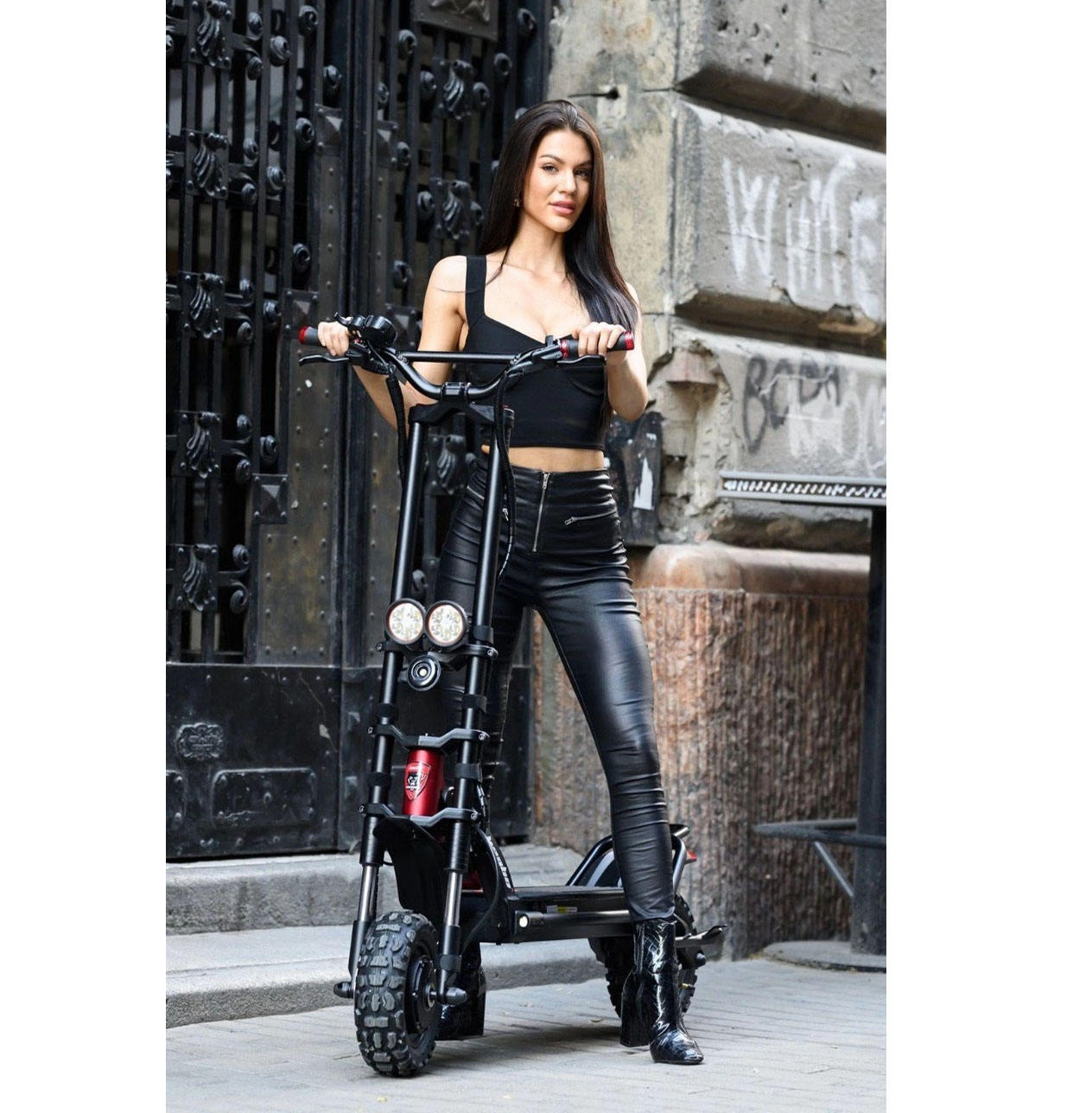 Dual motors 2*1500watt 72v 60v original kaabo wolf warrior king 11inch electric scooters for sale adult scooter electrical