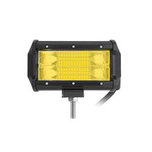 New Yellow PC Amber Color 5inch 72W LED Driving Fog Light