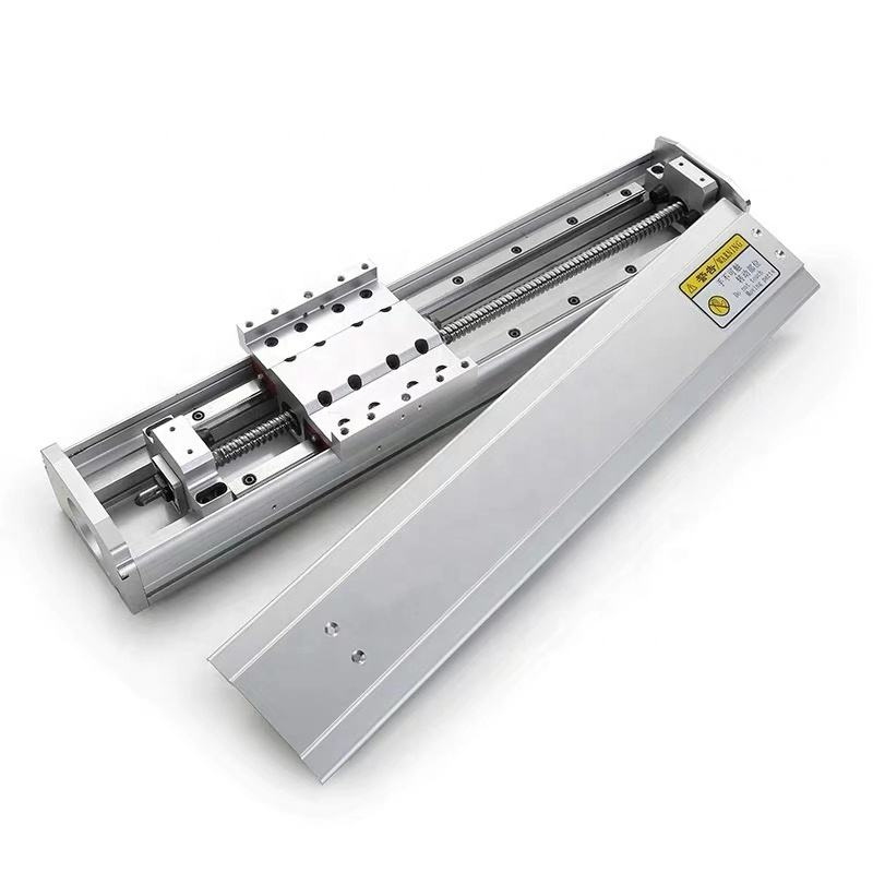 China linear motion modules 300mm Linear Guides SBR16 Ball screw stepper motor for CNC table