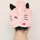 Cat Towel 2019 Hot Selling Super Absorbent Lovely CAT Embroidery Design Microfiber Hair Towel