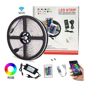 Waterpoof 12V 24V 5050 Rgb Rgbw Smart Wifi Bluetooth App Gecontroleerde Led Strip Licht