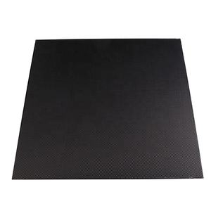thickness from 0.1mm to 5mm 3k plain /twill weave carbon fiber sheet ,carbon plate