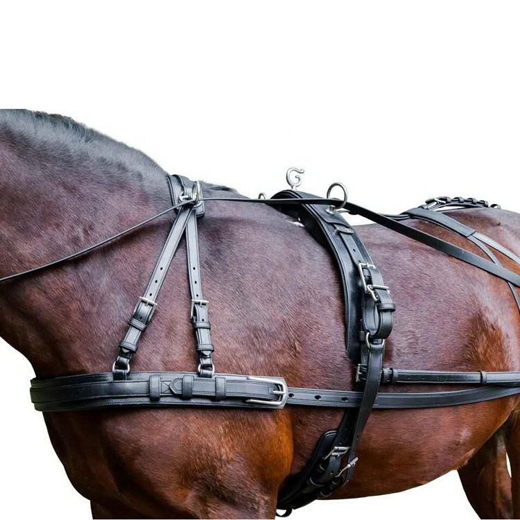 2020 Whole Set Safety Pvc Harness For Horse Driving For Sale