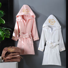 kids spa robe baby animal bathrobe children cotton robe