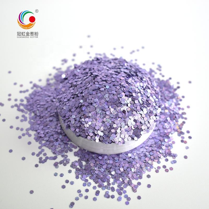 Factory Wholesale Export Starlight PET Glitter Supplies Nail Cosmetic Glitter Powder