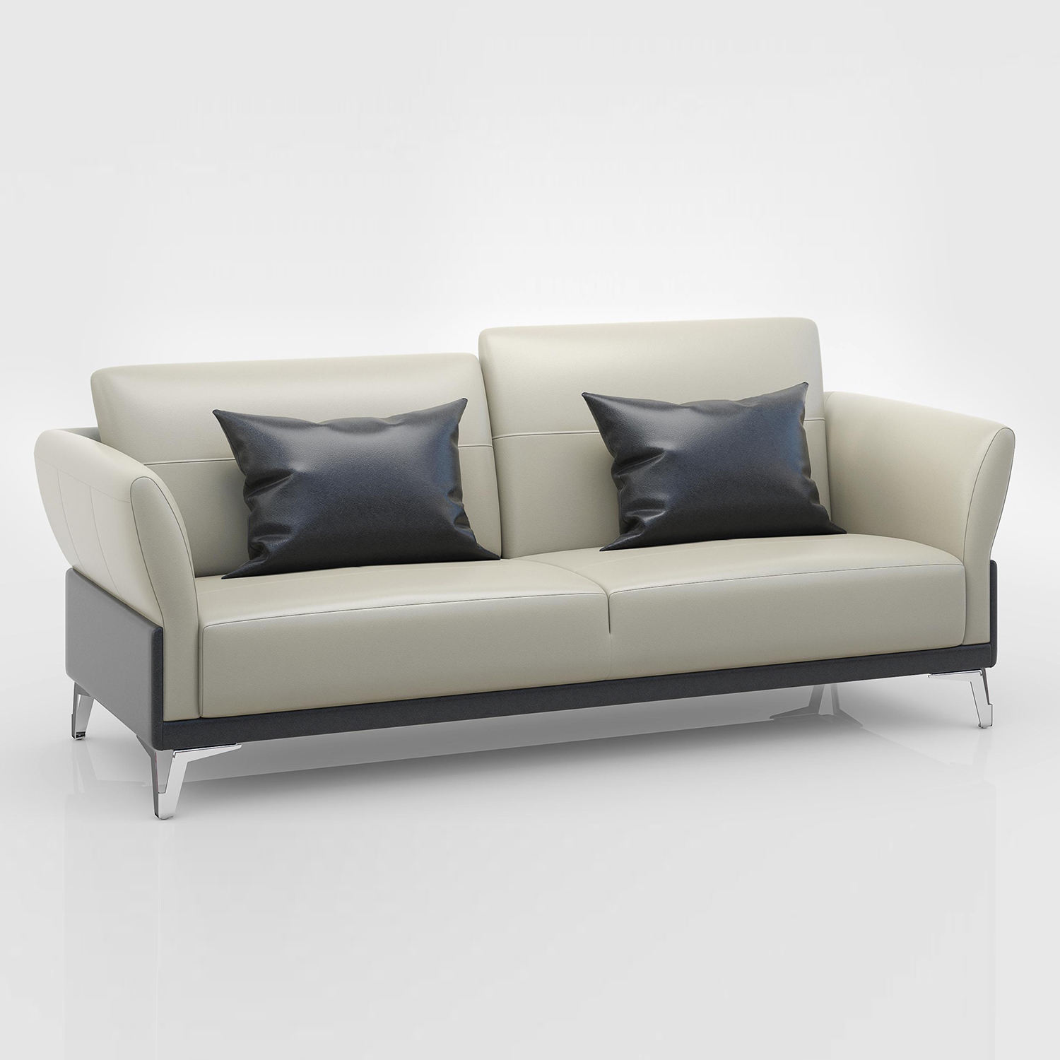 Modern New Design Commercial Office Furniture Executive PU Leather Office Sofa