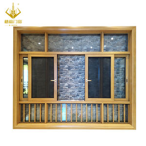 High quality cheap balcony commercial aluminium alloy sliding glass windows