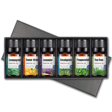 In stock Natural Pure Essential Oil Gift Set Lavender Peppermint Eucaluptus Tea tree Aromatherapy Essential Oil