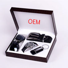 Top Quality Luxury Gift Set New Product Ideas 2020 Man Corporate Business Gift Set