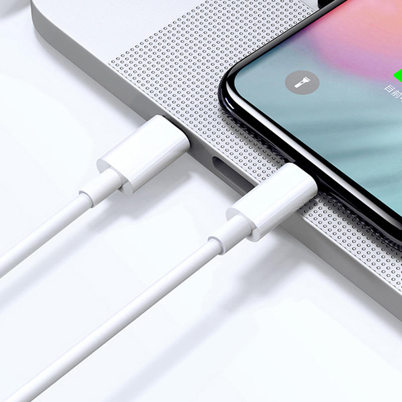 High Quality Type C type c fast charger adapter charging cable 18W PD usb-c fast charging cable for apple iphone