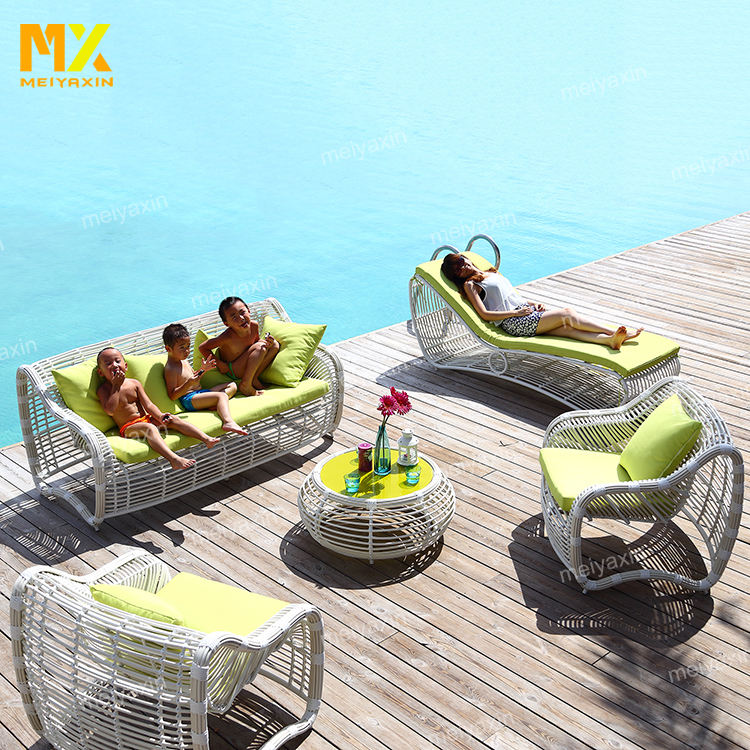 World popular outdoor use commercial leisure ways garden outdoor wicker patio furniture