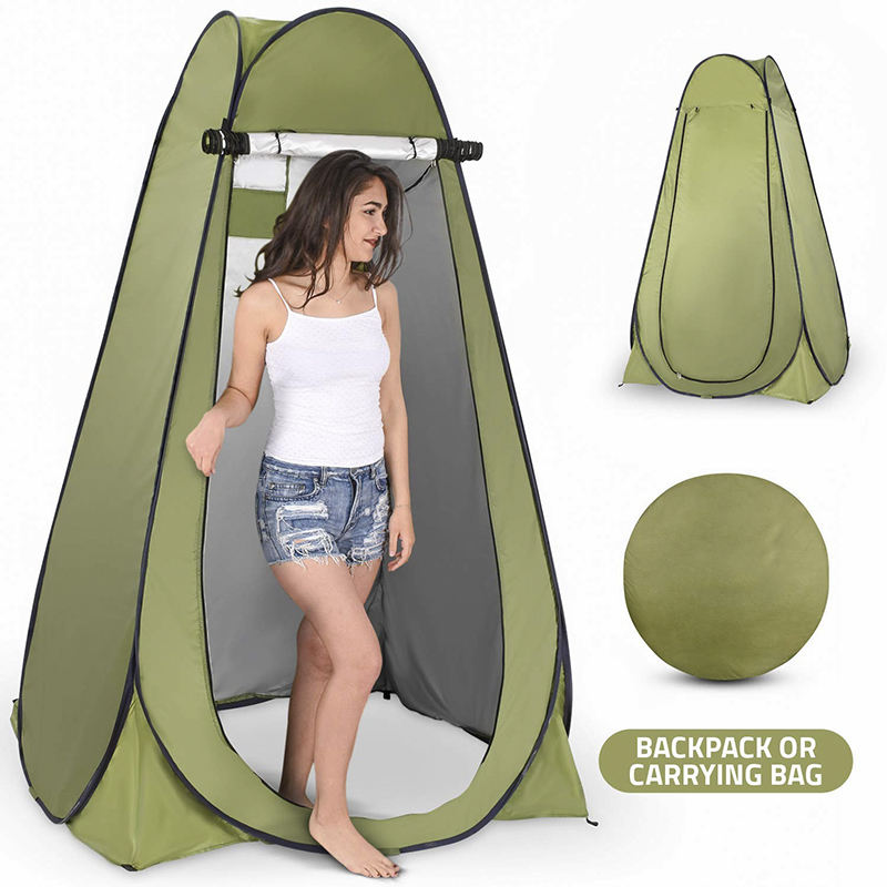 Instant Portable Outdoor Shower Automatic Tents Camp Toilet Changing Room Rain Shelter Pop Up Privacy Shower Tent