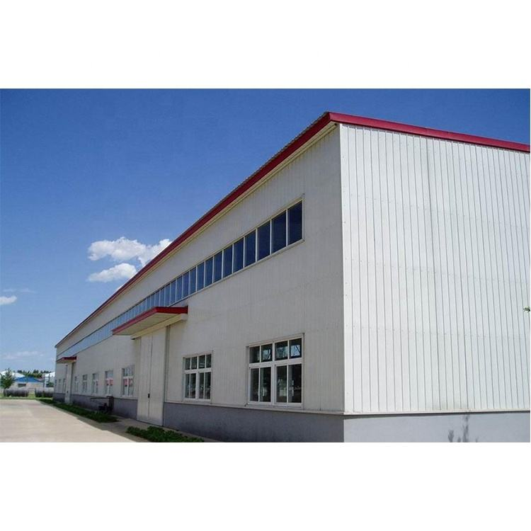 Cheap Price Large Span Steel Space Frame Structure Warehouse Fabricated Heavy Steel Structure