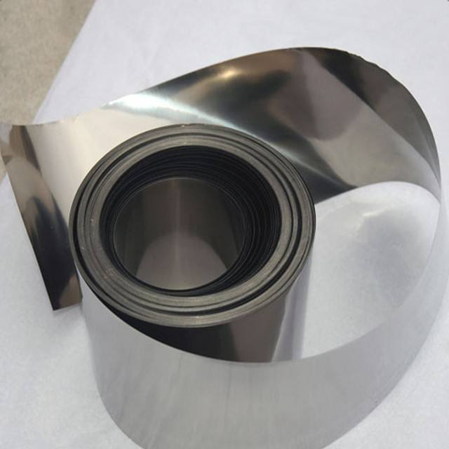 Superélastique nickel titane alliage bandes en stock
