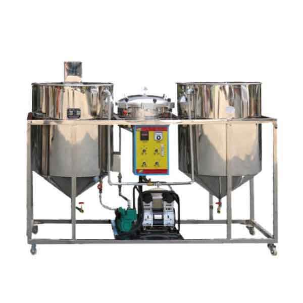 small capacity scale crude oil refinery/oil mini refinery equipement machine/cooking vegetable oil refining plant