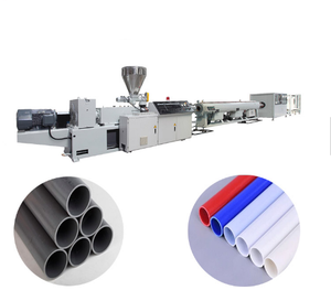 HDPE Double Wall Corrugated Plastic Tube Pipe Extrusion Making Machine
